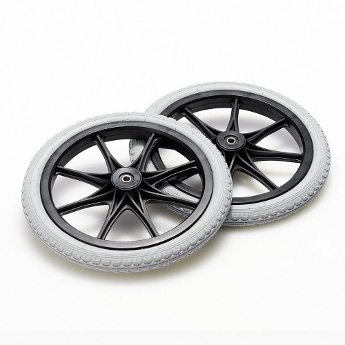 足こぎ車いすMサイズ用ノンパンクタイヤ